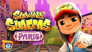 Subway Surfers PARIS ipad Gameplay For Children HD - World Tour 2018