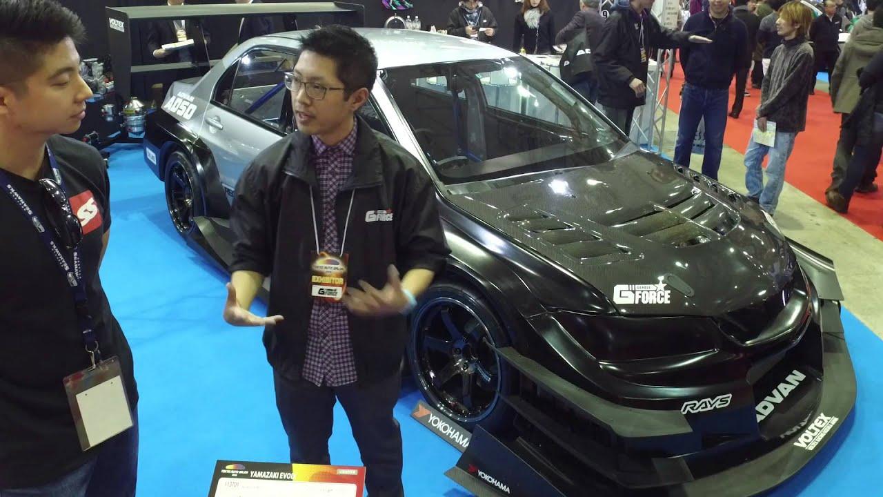 Garage g force evo ix tokyo auto salon day 1 super for Garage auto evo milizac