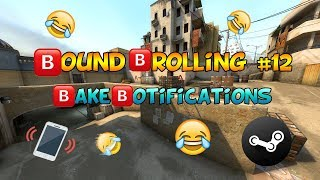 Fake Notifications in CS:GO [Sound Trolling 12]