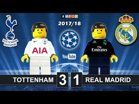 Tottenham - Real Madrid 3-1 • Champions League (01/11/2017) Goals Highlights Lego Football 2017/18