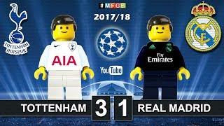 Video Tottenham vs Real Madrid 3-1 • Champions League 2018 (01/11/2017) Goals Highlights Lego Football download MP3, 3GP, MP4, WEBM, AVI, FLV Juli 2018