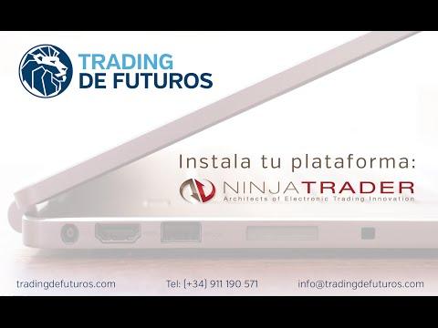 Instalación y configuración inicial de la plataforma de trading NinjaTrader