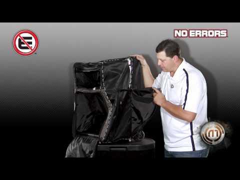 GearGuard No Errors 'Blue' Umpire Bag