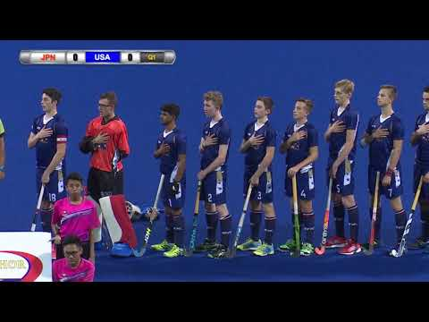 Japan v USA Day 5 Sultan of Johor Cup Hockey 2017