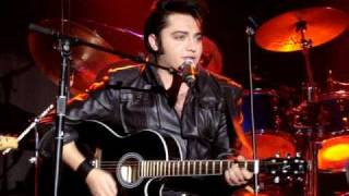 """Justin Shandor as Elvis Performs """"Tryin to Get to You"""" at Three Rivers Casino in Florence, Oregon"""