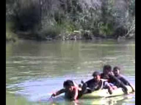 Un dia de trabajo en el rio bravo de reynosa