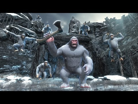 Mountain Beast Yeti Apes Survival - Android Gameplay HD