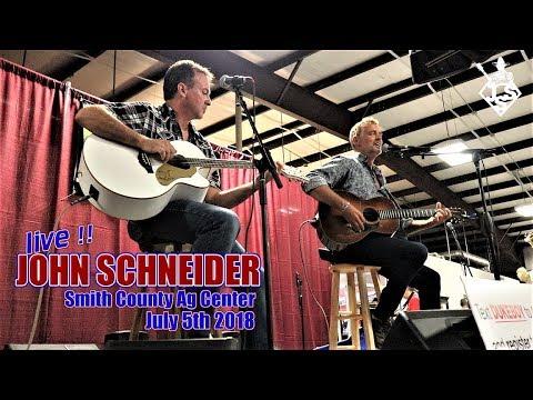 John Schneider Smith County AG Center July 5th 2018