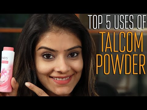 Top 5 Uses Of Talcum Powder | Home Remedies | Uses of Talcum Powder | Foxy Makeup Tutorial Videos
