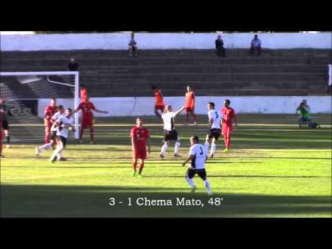 Vídeo Tudelano-Leonesa (3-1)