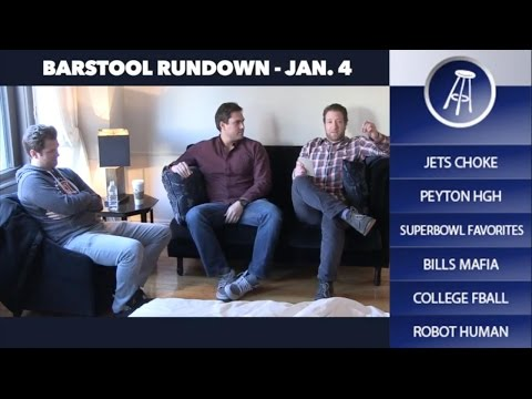 The Best Moments Of The Barstool Rundown 2016
