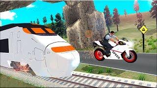 Train vs Super Nitro Bike Racing Challenge #2 - Gameplay Android game