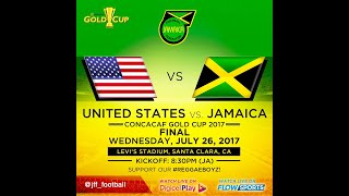 Jamaica finishes 2nd in the CONCACAF Gold Cup