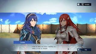 Fire Emblem Warriors - Lucina & Cordelia Support Conversation