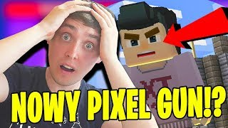 NOWY PIXEL GUN!? - Build and Shoot PL