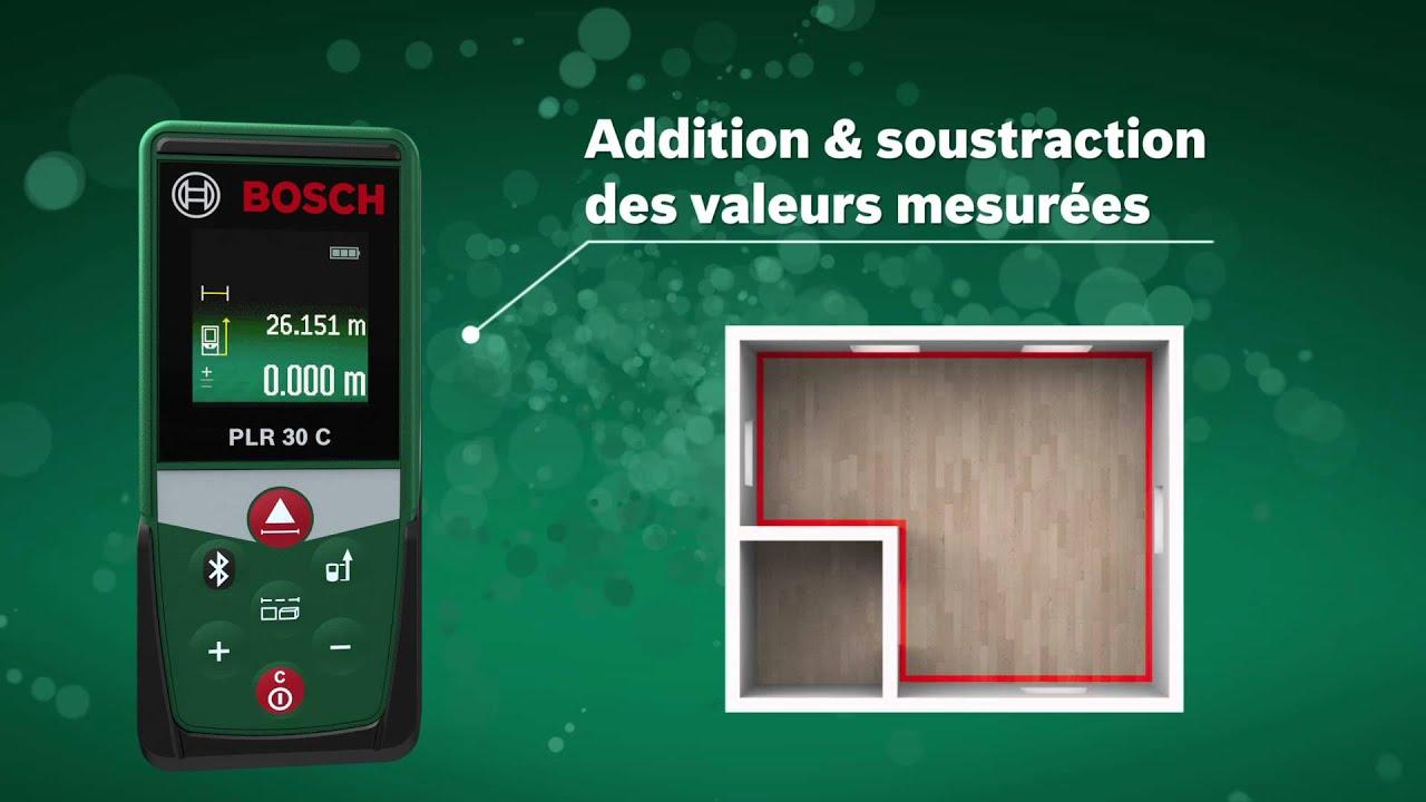 Bosch Entfernungsmesser Plr 30 C : Bosch digitaler laser entfernungsmesser plr c app funktion x