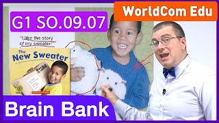 Learn English [ Brain Bank G1 Social Studies ] 09 The New Sweater L-03