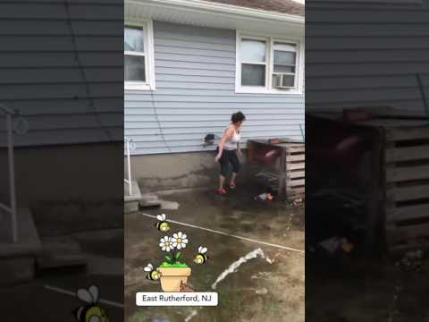 Son wets down his mom shows her boobs thumbnail