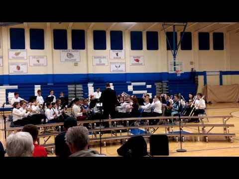 Inland Lakes High School band - Tarentella