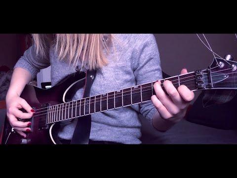 Nightwish - Ever Dream guitar by Alex Schmeia