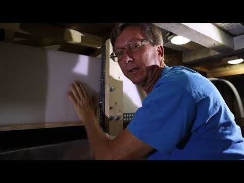 How to Install a Holding Tank on a Boat, Ep - 44