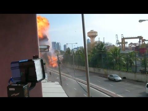 100秒了解斯里兰卡连环爆炸案经过 埃菲尔铁塔为之熄灯   小央视频