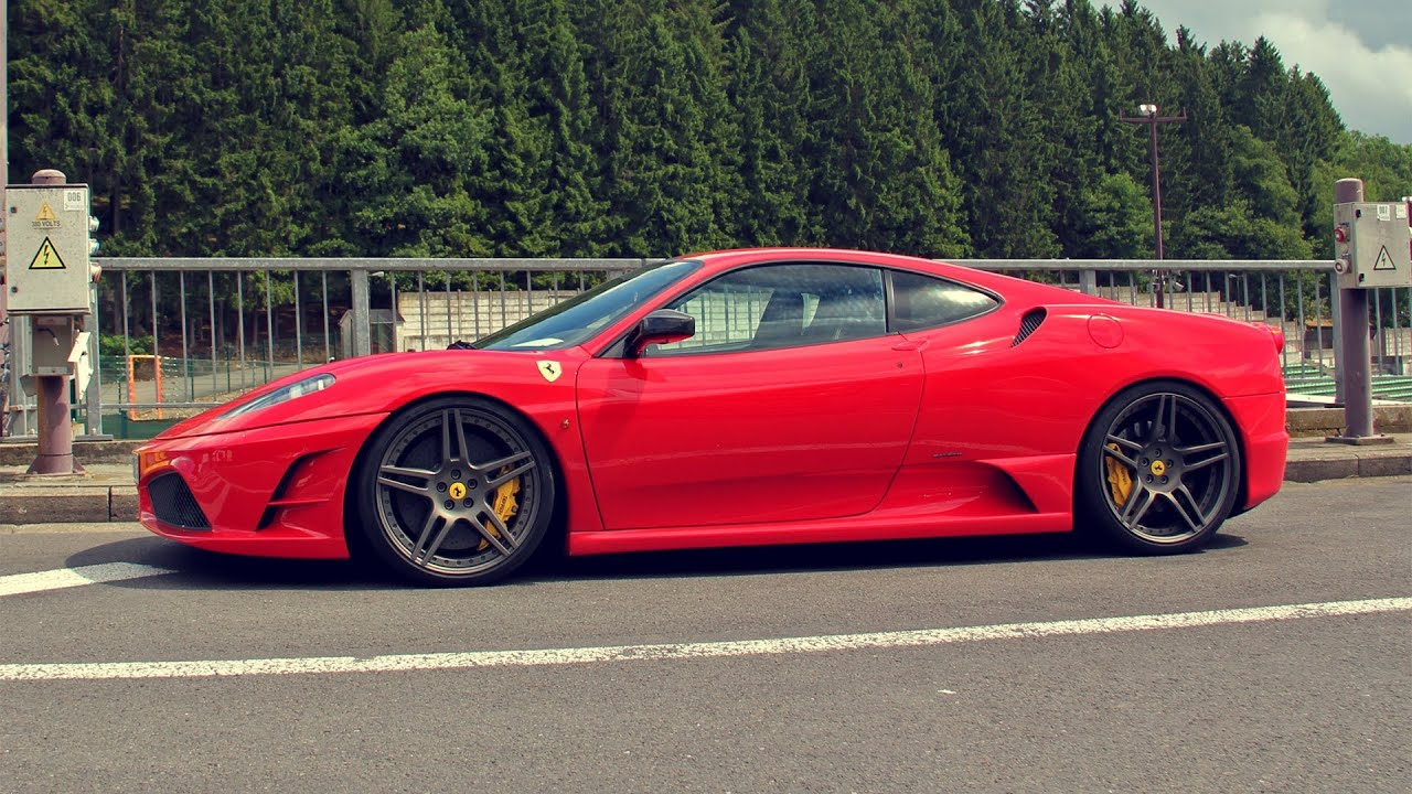 740hp Novitec Rosso Ferrari 430 Scuderia Bi Compressor Revs Start Up Youtube