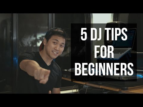 5 DJ Tips for beginners + GIVEAWAY