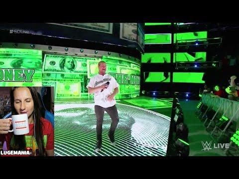 WWE Smackdown 9/12/17 Dolph Zigglers Shane O Mac Entrance