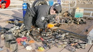 Found over $2,700 in Lost Valuables while Scuba Diving Lake!