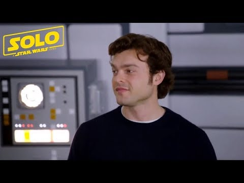 SOLO A Star Wars Story Han Solo On Set With Alden Ehrenreich P