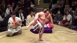 稀勢の里  横綱土俵入り  2018年大相撲トーナメント 稀勢の里 検索動画 11