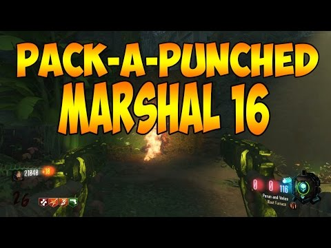 PACK-A-PUNCHED MARSHAL 16 ~ PERUN AND VELES (Zetsubou No Shima Bo3 Zombies)
