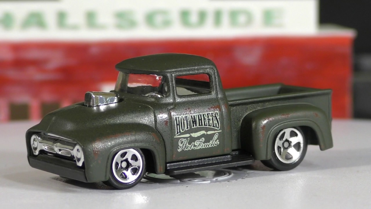 Hot Wheels K Case  Ford Truck