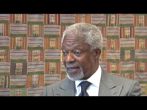 Kofi Annan, Nobel Prize Laureate and Former UN SG - Voices on Social Justice