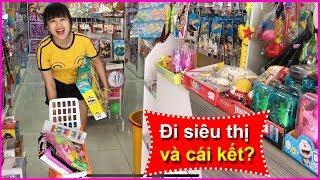 Đi mua đồ chơi cùng chị Chim Xinh, chọn búp bê, playdoh hay xe??? Cửa hàng đồ chơi này là của ai?