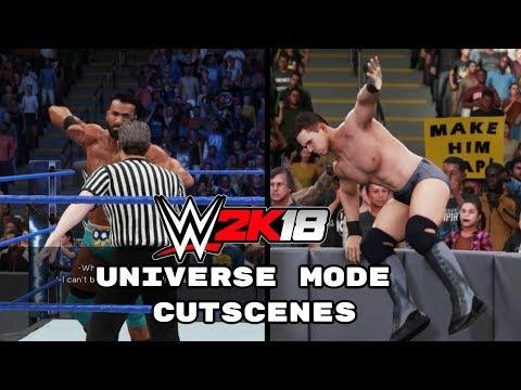WWE 2K18 Universe Mode Cutscenes thumbnail