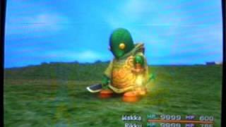 Final Fantasy X Don Tonberry Monster Arena Battle