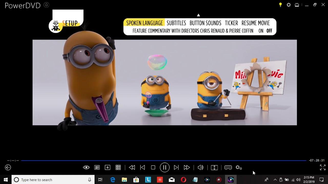 Download Despicable Me 2 2013 Blu-ray Menu Walkthrough