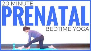 Prenatal Bedtime Yoga Routine