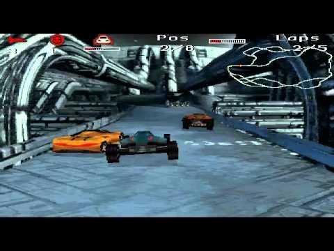Megarace 2 - Race 4 - Moonbase 9 |