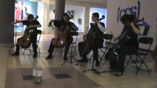 Tetrageddon - Fisheye, live at Crossgates Mall (Apocalyptica)
