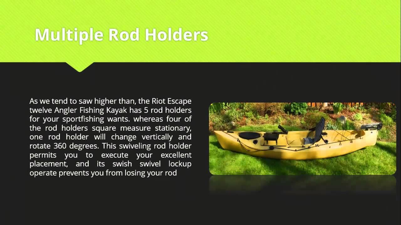 riot escape 12 kayak review