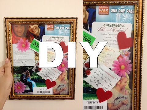 Diy Memory Collage Gift Idea Youtube