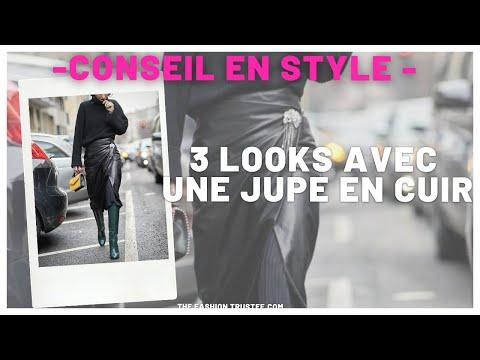 3 LOOKS AVEC UNE JUPE EN CUIR | The Fashion Trustee.