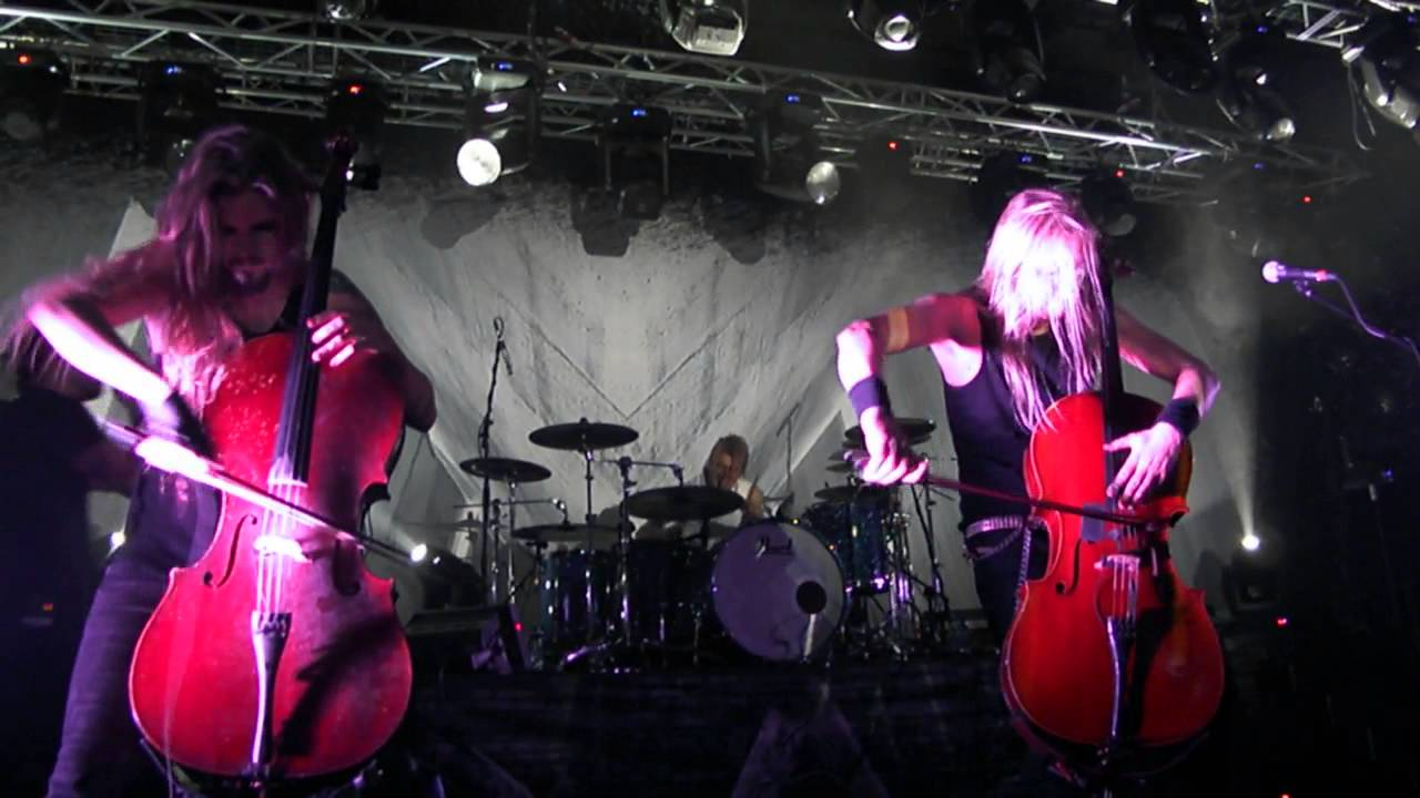 Download APOCALYPTICA - Hope /Live in MINSK /02.12.2015/