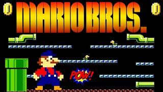 MARIO BROS. ARCADE NES / Dendy gameplay [172]
