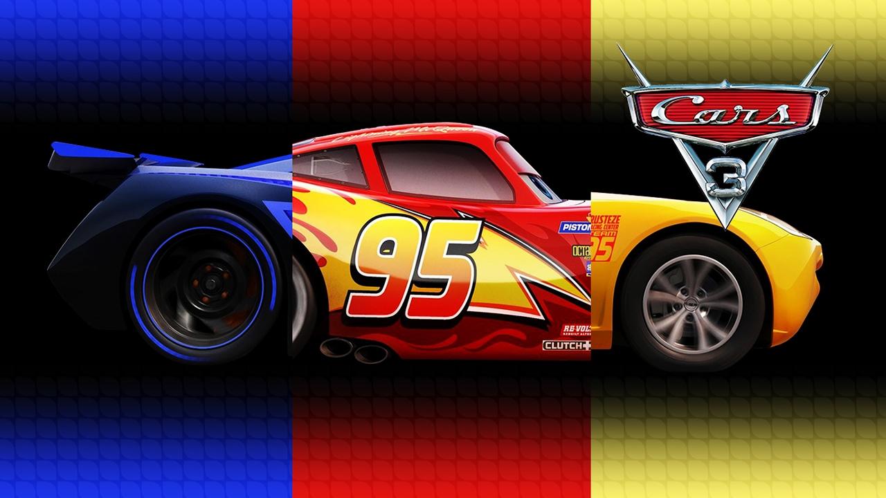 Disney Pixar Cars 3 Lightning Mcqueen Cruz Ramirez Jackson Storm