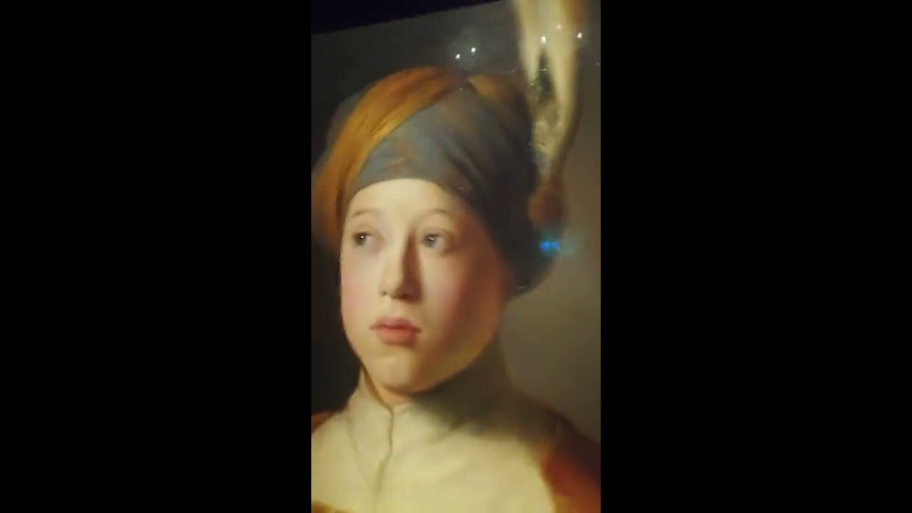 Rembrandt & Vermeer & Dutch Golden Age Exhibition at Louvre Abu Dhabi  26 02 2019