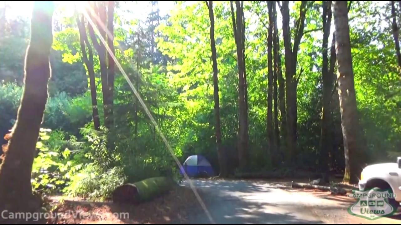 Potlatch State Park Campground Shelton Washington WA - CampgroundViews com